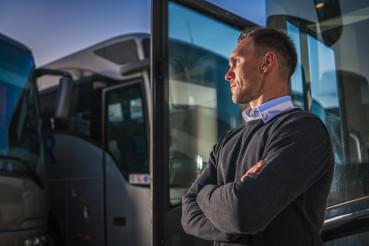Shuttle Buses Public Transportation Company Owner