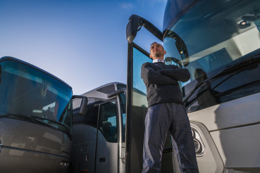 Shuttle Buses Transportation Business Owner