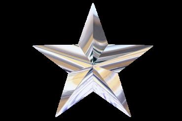 Silver Chrome Star