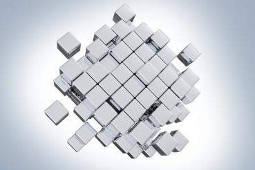 Silver Cubes Concept