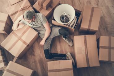 Single Men Home Moving