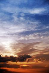 Sky Vertical Background