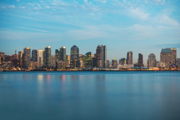 Skyline of San Diego California
