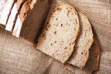 Sliced Bread on Linen