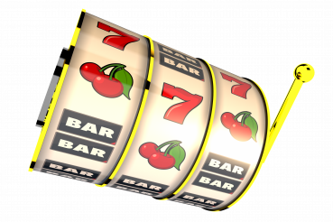 Slot  Fruit Machine Drum 3D Illustration