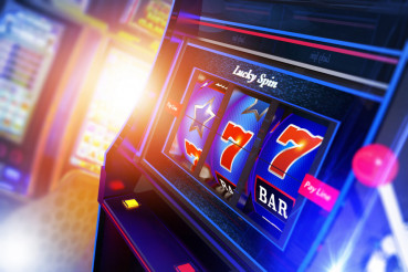 Slot Machine Illustration