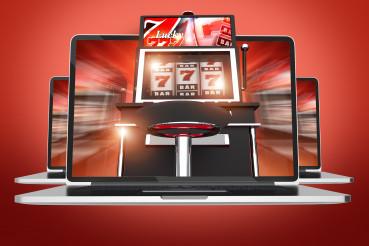 Concept Of Slot Machine Online Gambling.