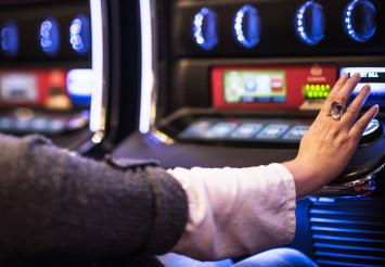 Slot Machine Spin Button