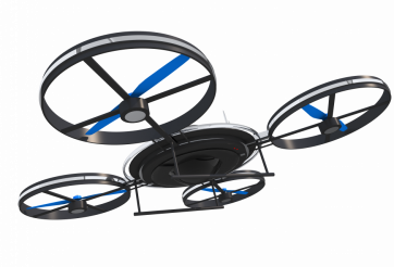 Small Quadcopter Drone PNG