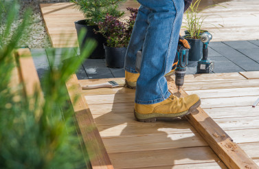 Small Woodwork Construction Job