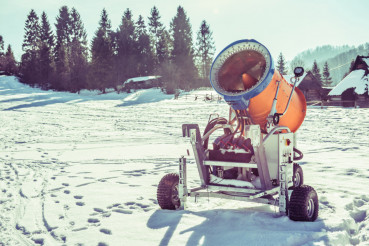 Snow Making Gun