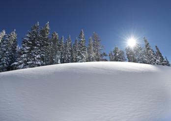 Snow Slope Scenery
