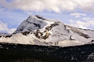 Snowy Glacier Summit