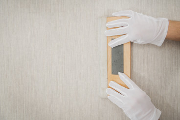 Soft Wooden Vinyl Squeegee Using For Wallpaper Application