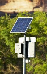 Solar Powered Sign