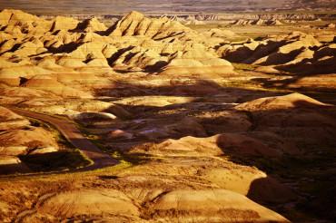 South Dakota Badlands Landscape