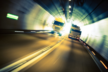 Speeding Trucks in the Tunnel