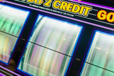 Spinning Reels of the Casino Slot Machine