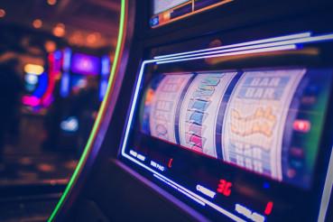 Spinning Slot Machine