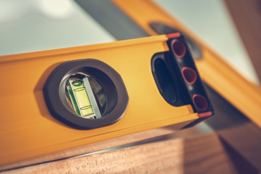 Spirit Level Tool Close Up