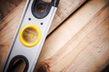Spirit Level Tool Closeup