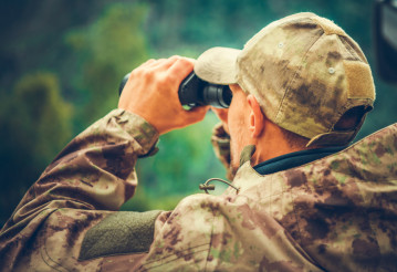 Spotting Game Using Binoculars
