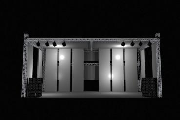 Stage Illustration Front