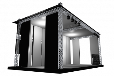Stage Illustration PNG Object