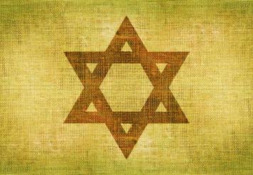 Star of David on Canvas