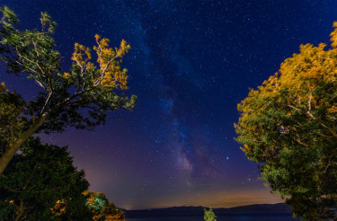 Starry Sky Over Adriatic Sea
