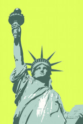 Statue of Liberty Vector Illustration
