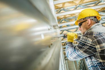 Steel Frame Contractor Worker