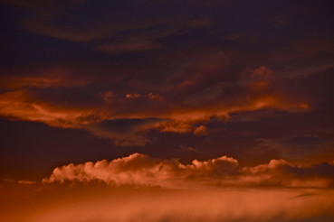 Stormy Sunset Clouds