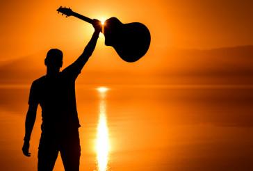 Successful Guitar Player