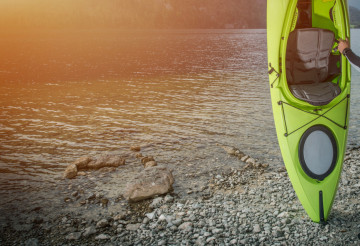 Summer Kayak Trip Concept