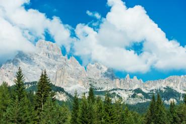 Summer Mountain Scenery