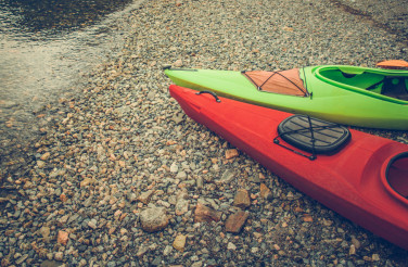 Summer Trip with Kayaks