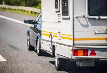 Summer Vacation with Small Travel Trailer