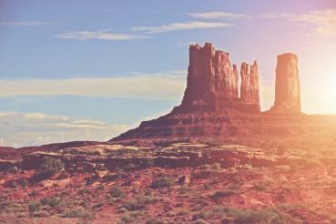 Sunny Arizona Landscape