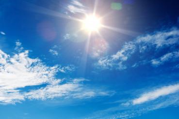 Sunny Blue Sky Background
