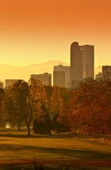 Sunny Denver Sunset