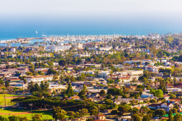 Sunny Santa Barbara California