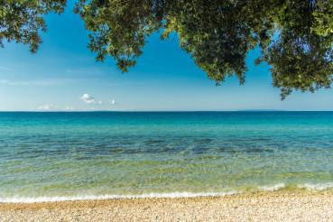 Sunny Scenic Adriatic Beach