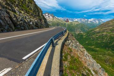 Swiss Alpine Road