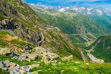 Swiss Alps Scenic Road