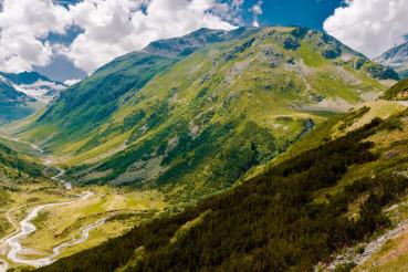 Switzerland Alps Landscape