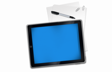Tablet and Paper PNG