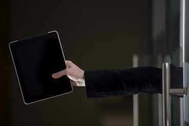 Tablet in Hand - Office