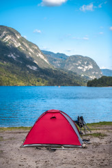Tent Camping in Slovenia
