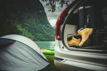 Tent Camping Road Trip